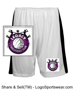 Youth Fit Mesh Short Design Zoom
